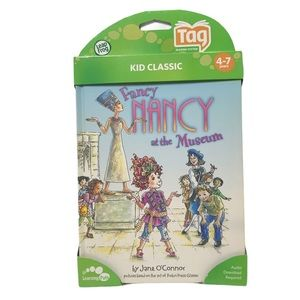 Leapfrog Tag Fancy Nancy at the Museum Book new